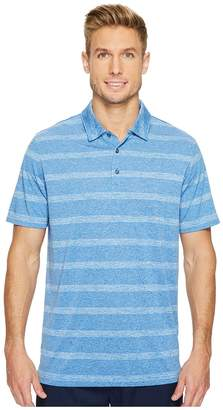 Puma Pounce Stripe Polo Cresting Men's Short Sleeve Knit