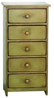 August Grove Leesburg 5 Drawer Accent Chest August Grove