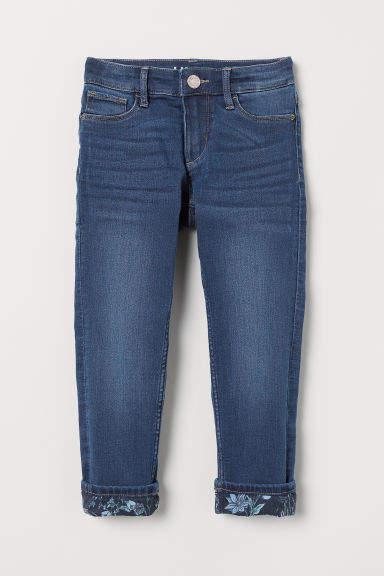 H&M - Skinny Fit Generous Size Jeans - Blue