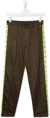 MSGM Kids side-stripe track trousers