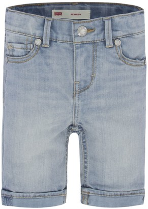 Levi's Levis Toddler Girl Denim Sweetie Bermuda Shorts