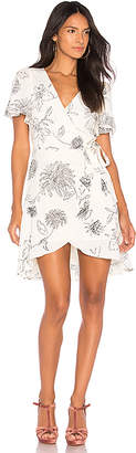 J.o.a. Surplice Dress
