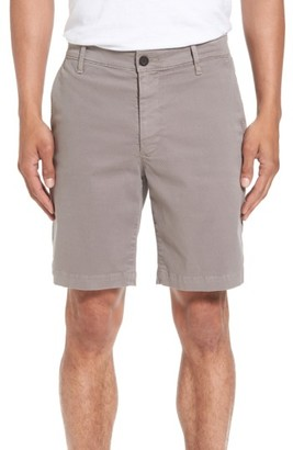 Men's Ag Wanderer Modern Slim Fit Print Twill Shorts $135 thestylecure.com
