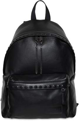 Eastpak 24l Padded Pak'r Studs Leather Backpack