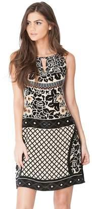 Hale Bob Keri Silk Starburn Dress