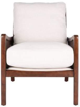 Safavieh Moretti Wood Frame Accent Chair