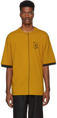 Yang Li Yellow Double Sleeve T-Shirt