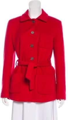 Balmain Horsehair & Wool Blazer