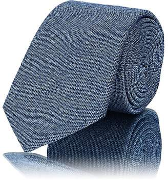 Barneys New York Men's Textured Silk-Cotton Necktie