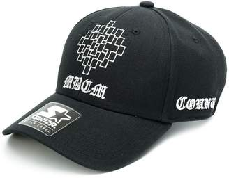 Marcelo Burlon County of Milan x Starter Black Label MBCM cap