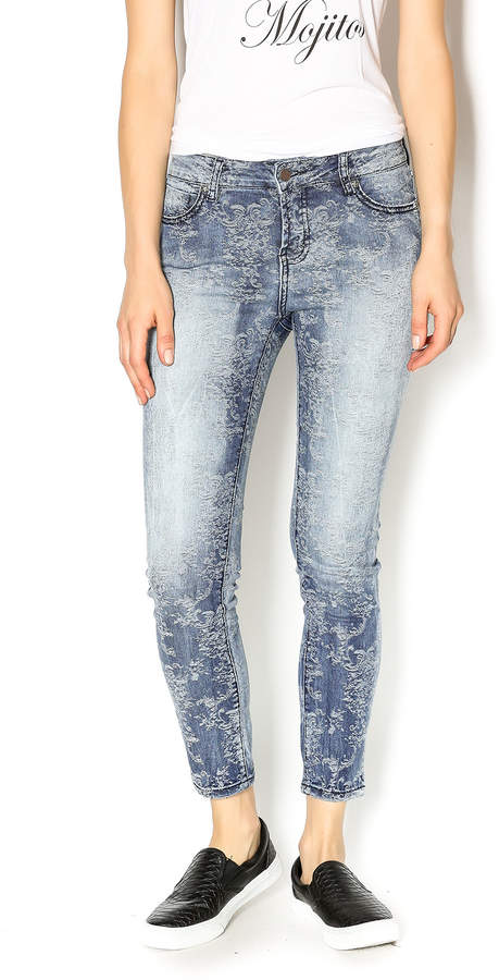 Liverpool Jeans Company Patterned Denim