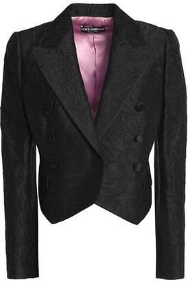 Dolce & Gabbana Double-Breasted Jacquard Tuxedo Jacket