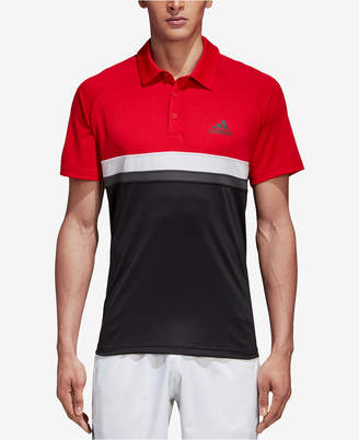 adidas Men's Club ClimaLite Colorblocked Polo
