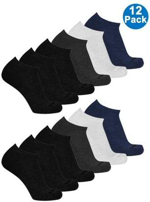 AND 1 And1 Men's Low Cut Value Multi, 12PK