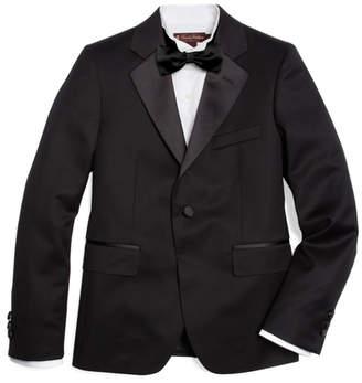 Brooks Brothers Boys One-Button Tuxedo Junior Jacket
