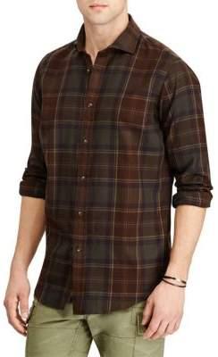 Polo Ralph Lauren Standard-Fit Plaid Button-Down Shirt