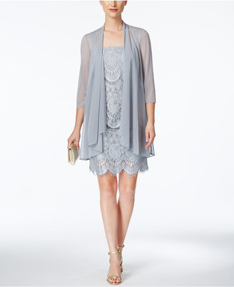 R & M Richards Lace Sheath Dress And Jacket $109 thestylecure.com