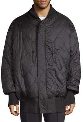 Y-3 Oversized Quilted Reversible Bomber Jacket