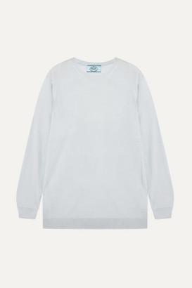 Prada Wool Sweater - Sky blue