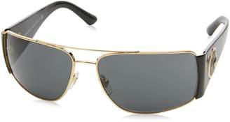 Versace Men's VE2163 Gold//Grey Sunglasses