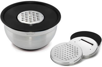 Cuisinart Mixing Bowl With 3 Graters And Lid