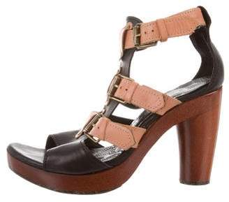 Chie Mihara Open Toe Ankle Strap Sandals