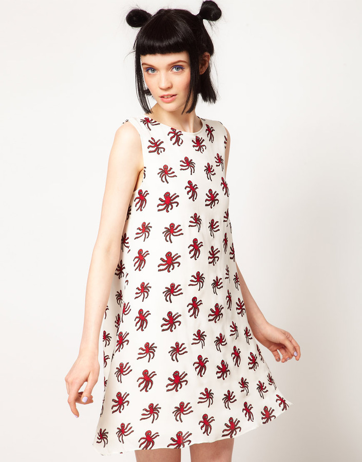 Octopus The Rodnik Band Shift Dress with Print
