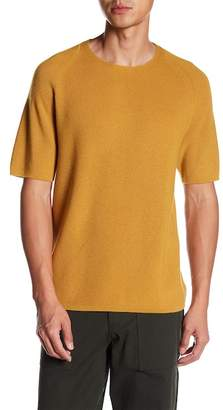 Theory Short Sleeve Merino Wool Pullover