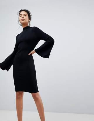 Keepsake Surrender Flared Sleeve Knit Dress