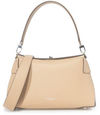 Michael Kors Collection Miranda Top Lock Shoulder Bag $890 thestylecure.com