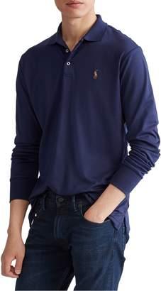 Polo Ralph Lauren Classic-Fit Long-Sleeve Cotton Polo