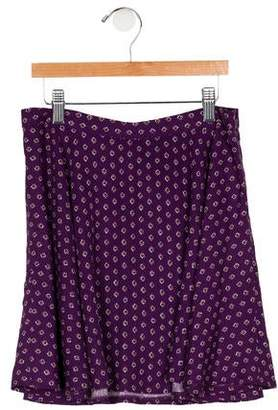 Polo Ralph Lauren Girls' Patterned Mini Skirt w/ Tags