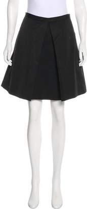 Tibi Silk-Blend Mini Skirt