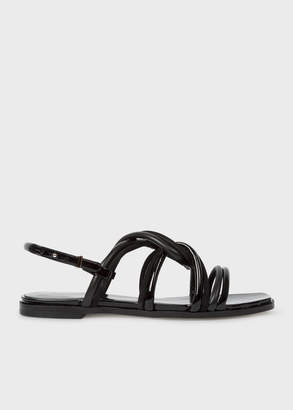 Paul Smith Women's Black Suede 'Carlin' Sandals