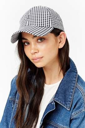 Forever 21 Gingham Dad Cap