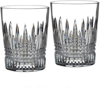 """Waterford Crystal Two """"Lismore Diamond"""" Tumblers"""
