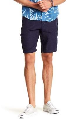 Benson Solid Linen Shorts