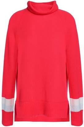 Duffy Striped Cashmere Turtleneck Sweater