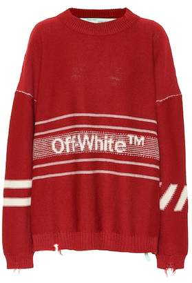 Off-White Oversized wool sweater