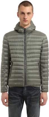 Colmar Originals Nylon Hooded Down Jacket