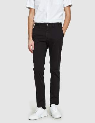 Norse Projects Aros Slim Light Stretch Pant in Black