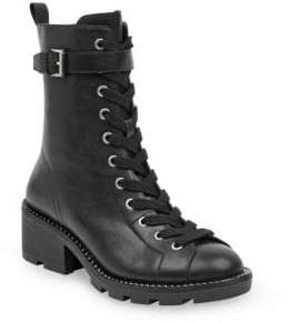 KENDALL + KYLIE Lace-Up Buckle Boots