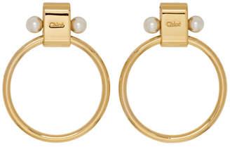 Chloé Gold Darcy Earrings