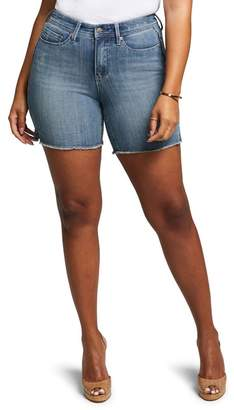 NYDJ CURVES 360 BY Shape Slim Straight Shorts (Regular & Plus Size)