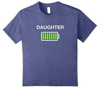 Women's Daughter Battery Shirt Mommy Low Battery Tshirt