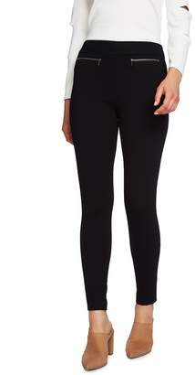 1 STATE 1.STATE Zip Pocket Ponte Leggings