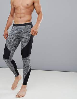 Asos 4505 running tights with cut & sew and quick dry