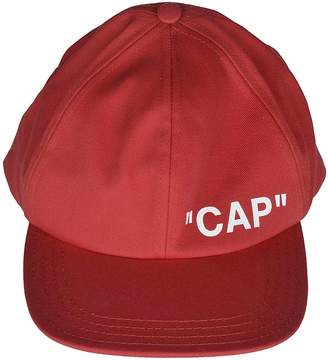 Off-White Red Hats For Men - ShopStyle Canada df3f9150dc3