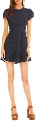 ASTR the Label Mazie Lattice Back Dress