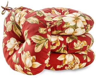 Asstd National Brand 15 Outdoor Bistro Chair Cushion Set of 4